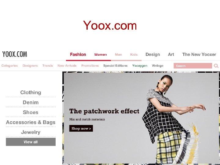 Yoox. com