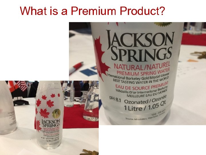 What is a Premium Product?