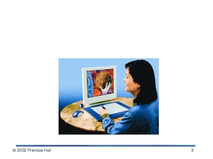 Input: From Person to Processor 2002 Prentice Hall 3