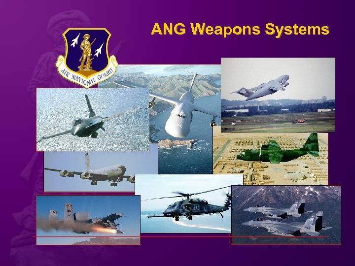 ANG Weapons Systems