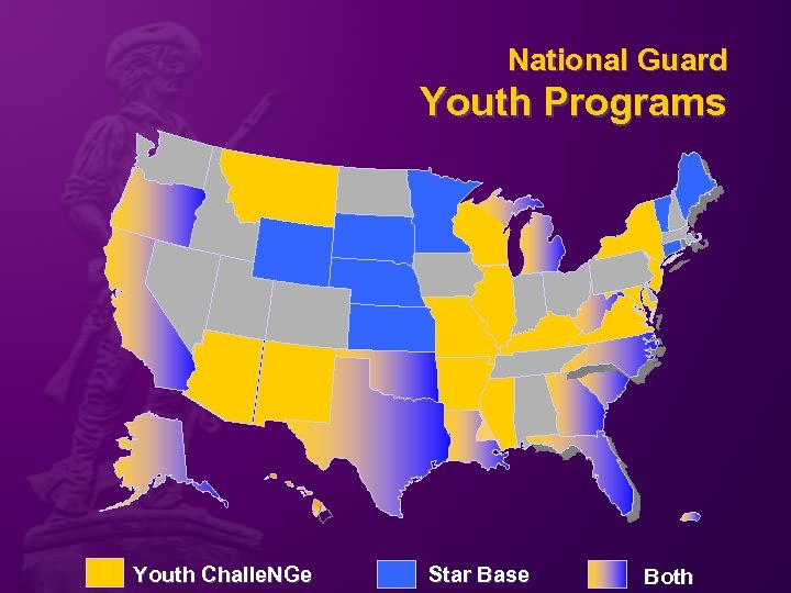 National Guard Youth Programs Youth Challe. NGe Star Base Both