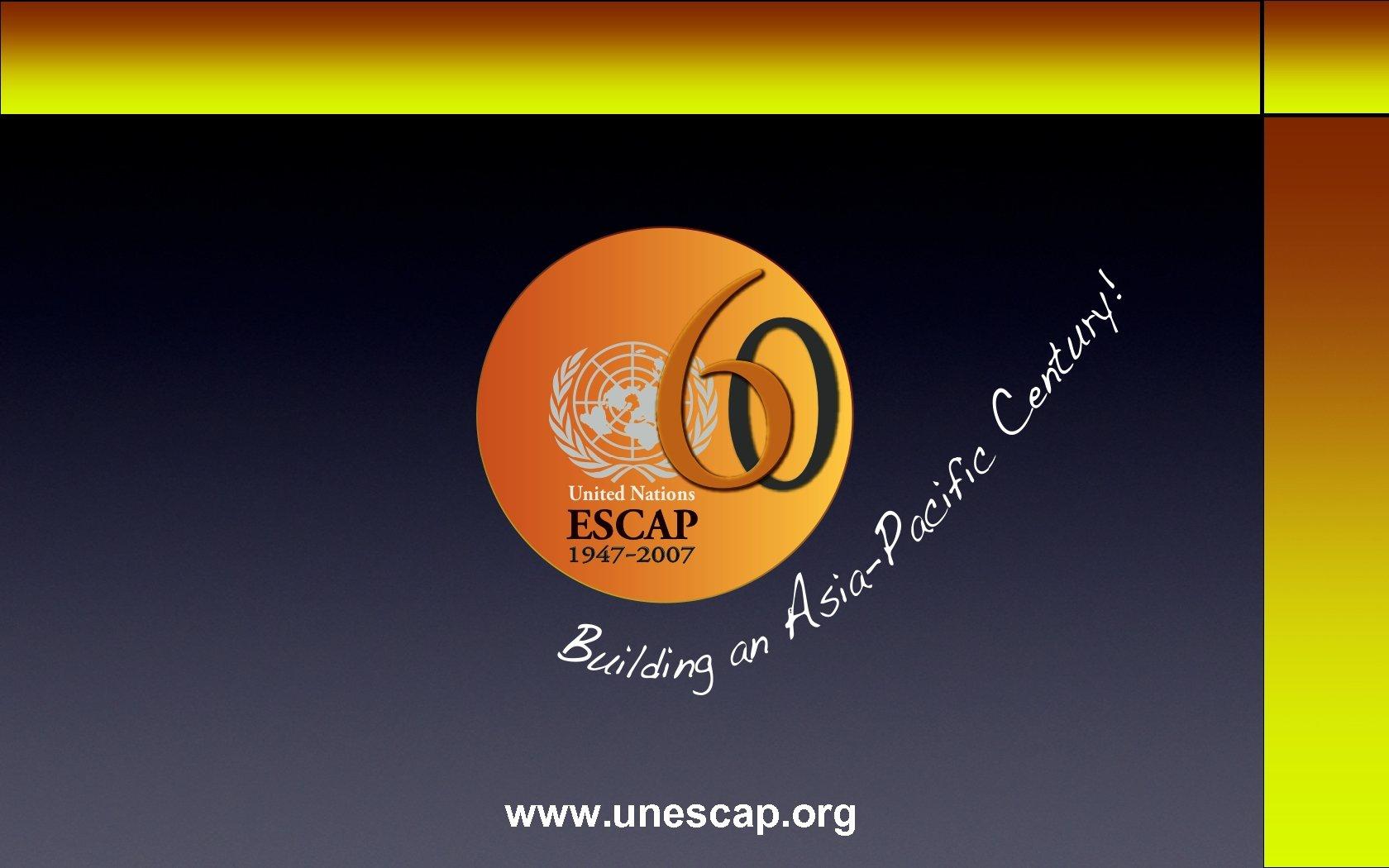 Thank you www. unescap. org