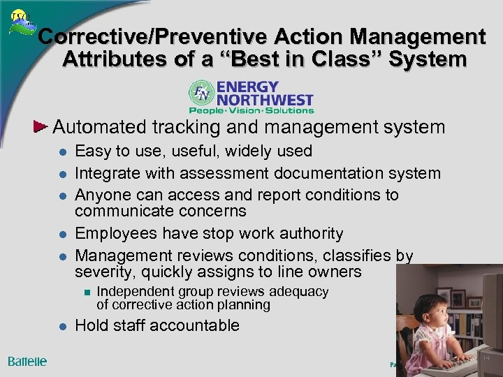 "Corrective/Preventive Action Management Attributes of a ""Best in Class"" System Automated tracking and management"