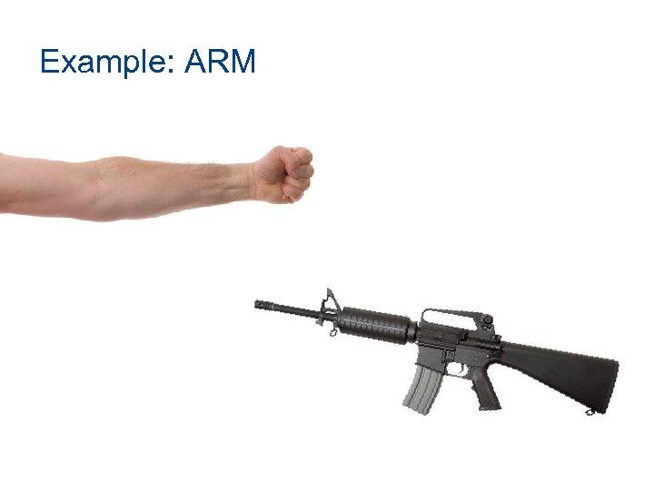 Example: ARM