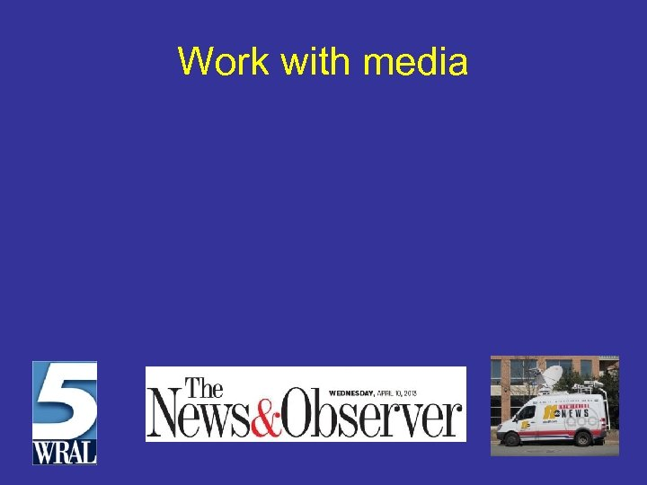 Work with media