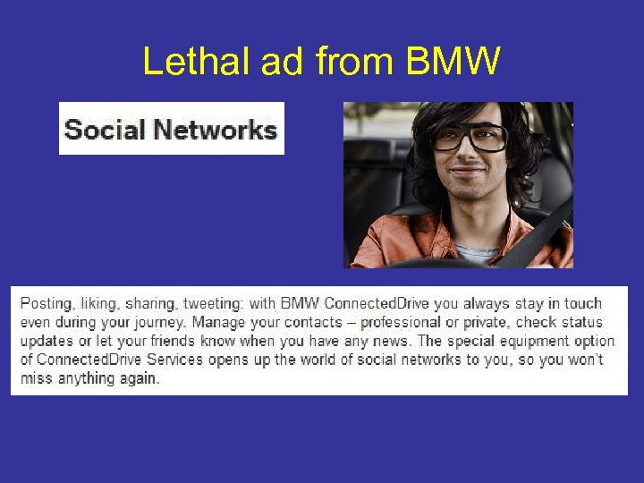 Lethal ad from BMW