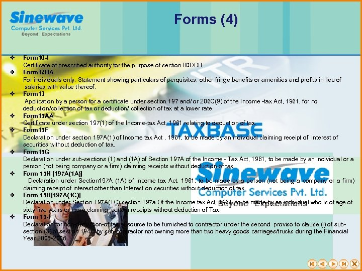 Forms (4) v Form 10 -I Certificate of prescribed authority for the purpose of