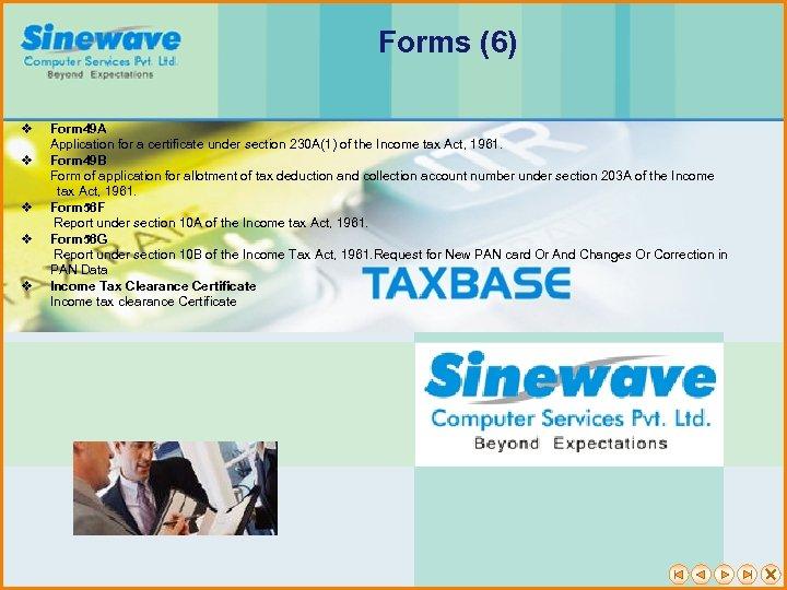Forms (6) v v v Form 49 A Application for a certificate under section