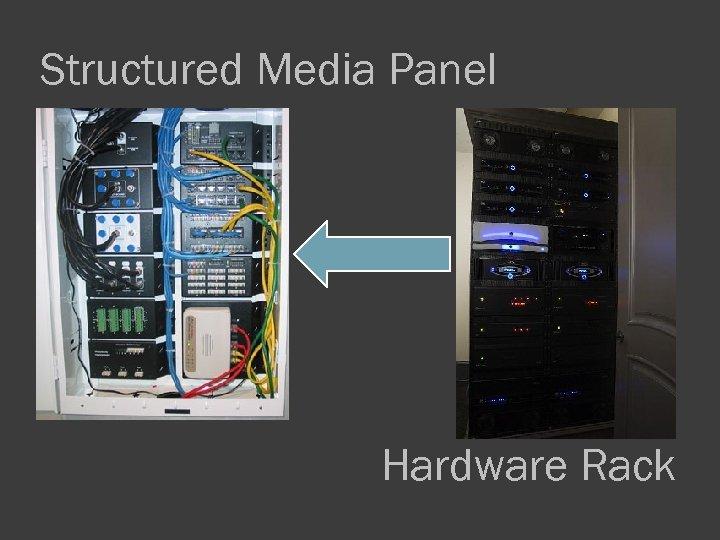 Structured Media Panel Hardware Rack