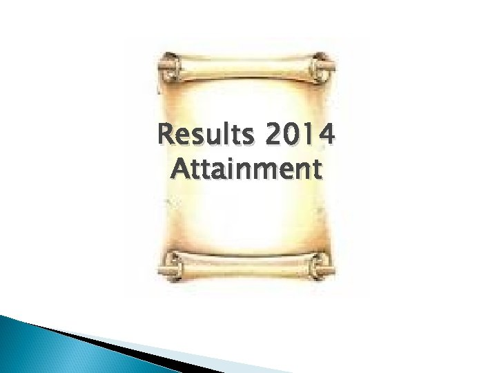 Results 2014 Attainment