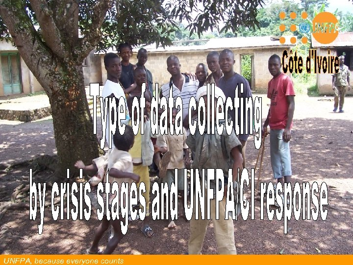 UNFPA, because everyone counts