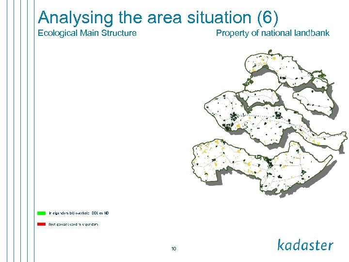 Analysing the area situation (6) Ecological Main Structure Property of national landbank 10
