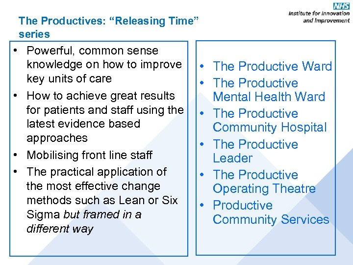 "The Productives: ""Releasing Time"" series • Powerful, common sense knowledge on how to improve"