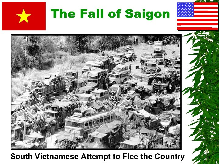 The Fall of Saigon South Vietnamese Attempt to Flee the Country