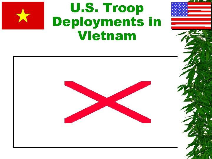 U. S. Troop Deployments in Vietnam