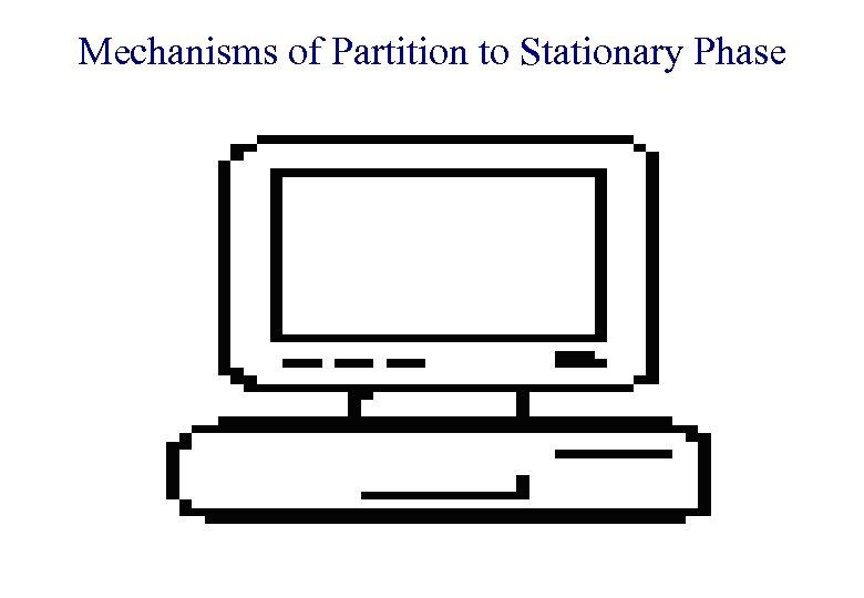 Mechanisms of Partition to Stationary Phase