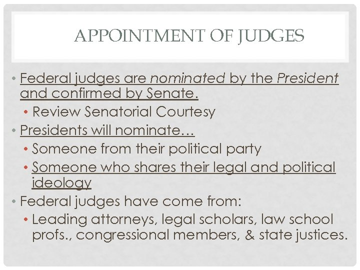 to what extent are judges politically neutral? essay Judges sometimes make rulings that may prevent the government from carrying out its functions and political mandate (case study 1) in cases where there is a dispute between the power of government and the power of judges, it is argued that democracy demands that government should prevail.