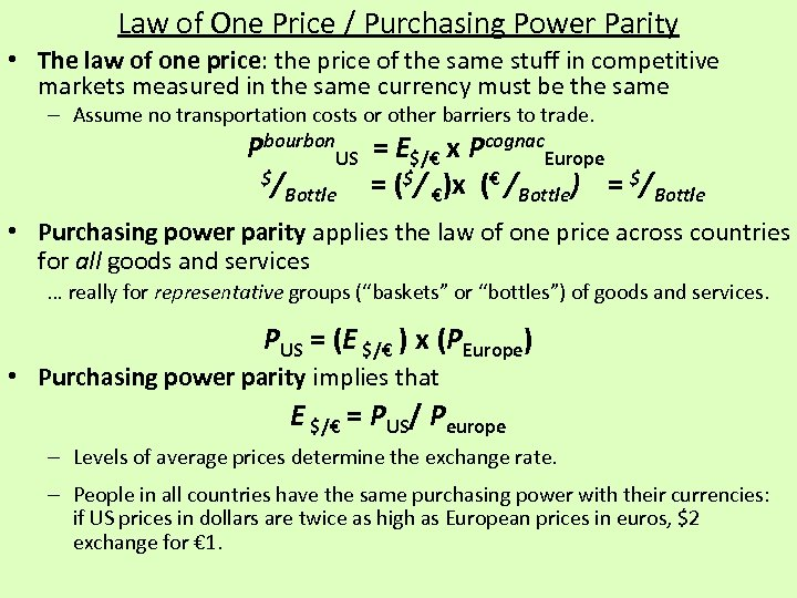 law of one price price variation Margin-based asset pricing and deviations from the law of one price identical cash flows traded at different prices, giving rise to so-called bases.