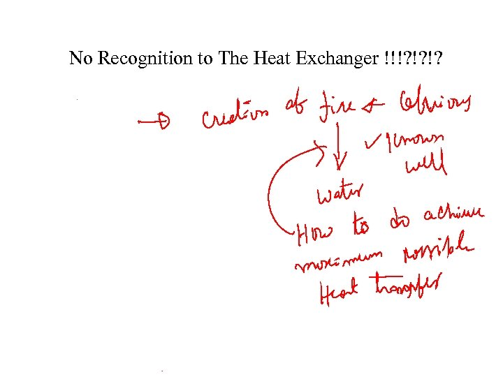No Recognition to The Heat Exchanger !!!? !? !?