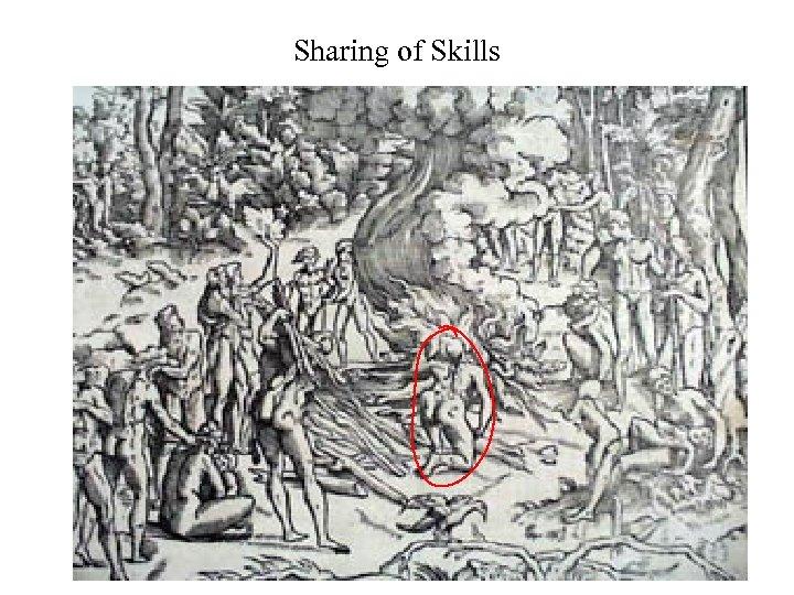 Sharing of Skills