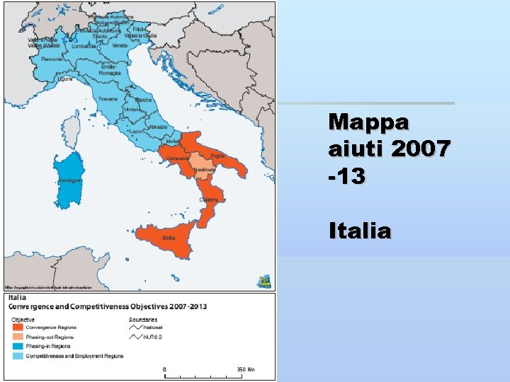 Mappa aiuti 2007 -13 Italia