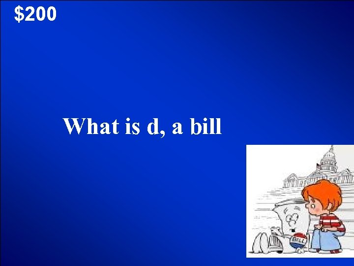 © Mark E. Damon - All Rights Reserved $200 What is d, a bill