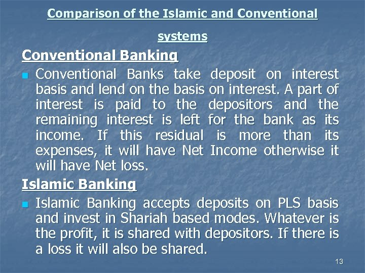 islamic and conventional short term in Wholesale bank (branch), bahrain kingdom of bahrain, a well-developed and diversified financial hub is home of assorted conventional and islamic financial establishments, including retail and wholesale banks, specialized banks, insurance companies, finance companies, investment advisors, money changers, insurance brokers, securities brokers and.