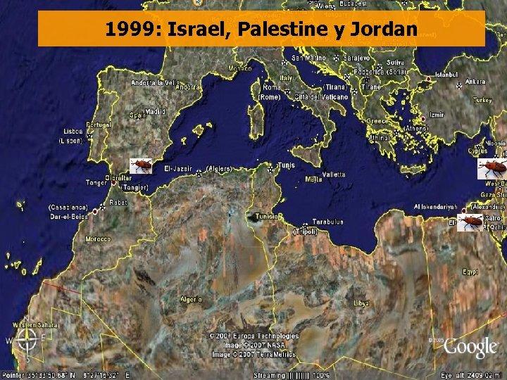 1999: Israel, Palestine y Jordan