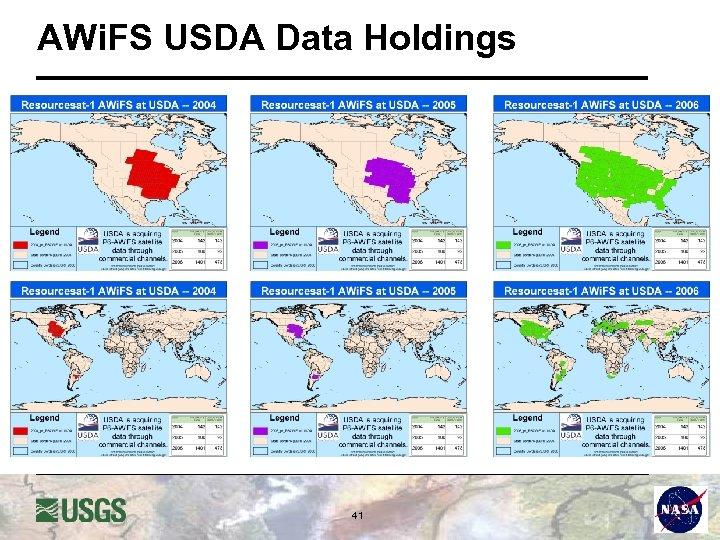 AWi. FS USDA Data Holdings 41