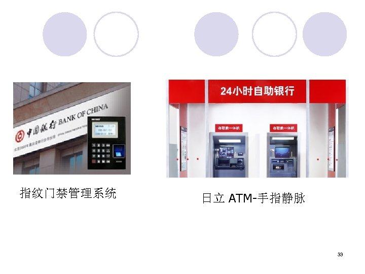 指纹门禁管理系统 日立 ATM-手指静脉 33
