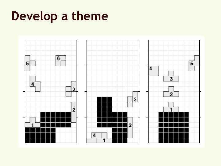 Develop a theme