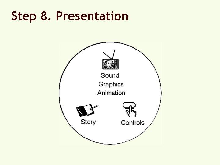 Step 8. Presentation