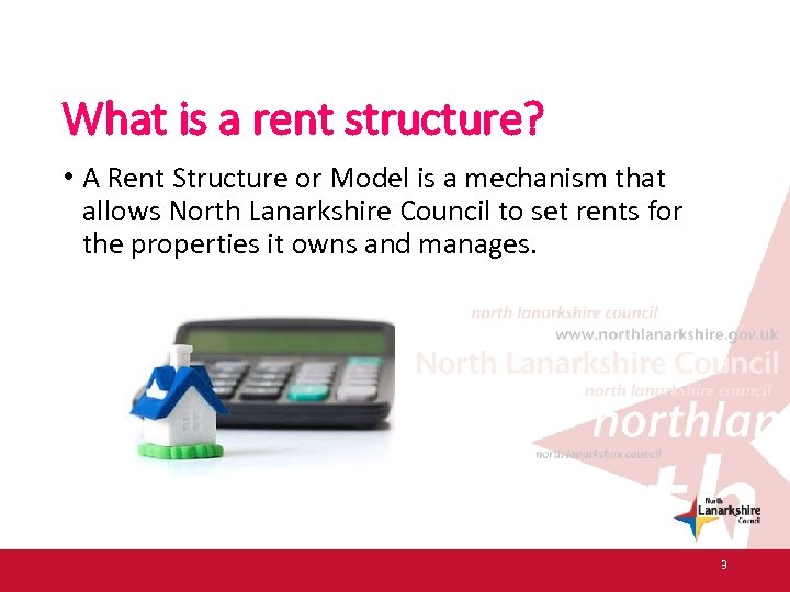 What is a rent structure? • A Rent Structure or Model is a mechanism