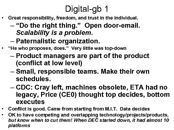 "Digital-gb 1 • Great responsibility, freedom, and trust in the individual. – ""Do the"