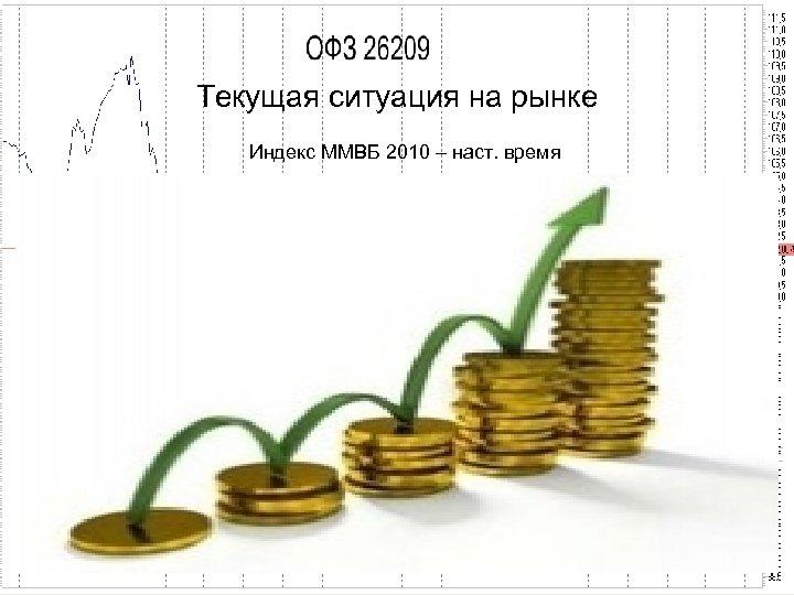 Текущая ситуация на рынке Индекс ММВБ 2010 – наст. время