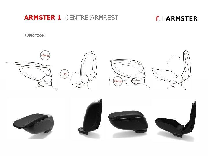 ARMSTER 1 CENTRE ARMREST FUNCTION