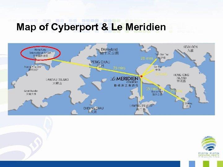 Map of Cyberport & Le Meridien 5