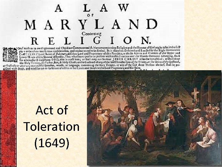 Act of Toleration (1649)