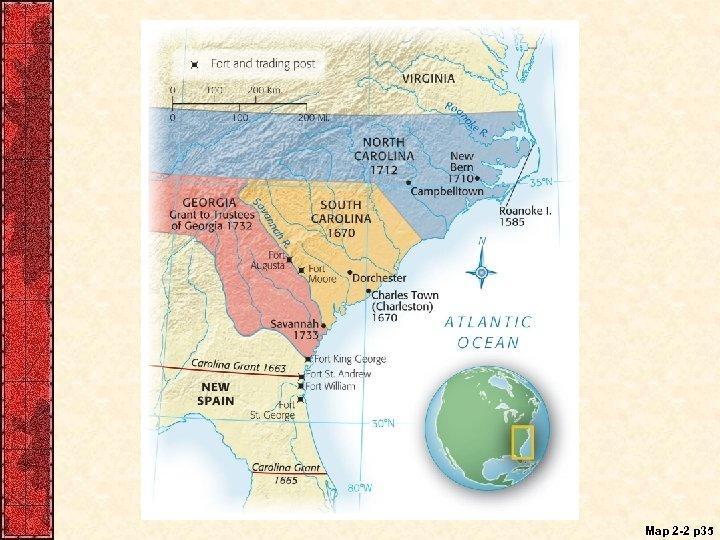 Map 2 -2 p 35
