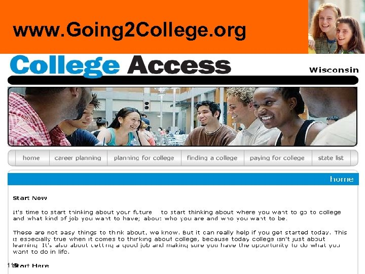 www. Going 2 College. org 115