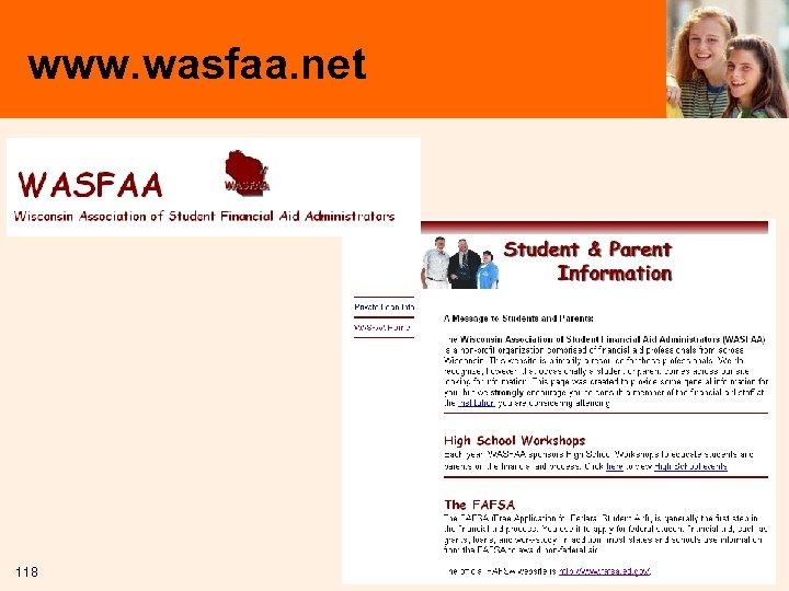 www. wasfaa. net 118