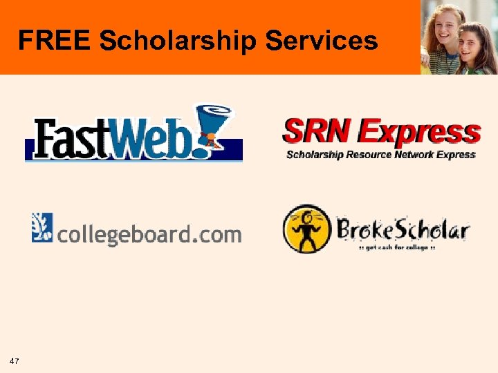 FREE Scholarship Services 47