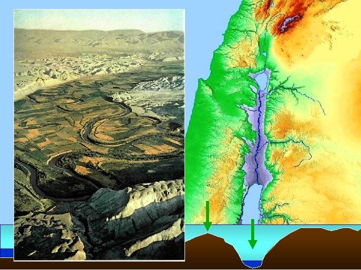 • The Coastal Plain • Central Mountain Range • Jordan Rift Valley