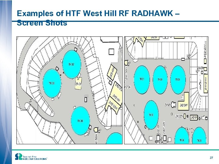 Examples of HTF West Hill RF RADHAWK – Screen Shots 37