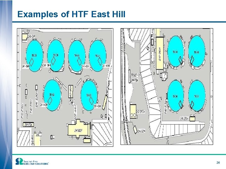Examples of HTF East Hill 38