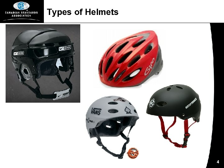 Types of Helmets 4