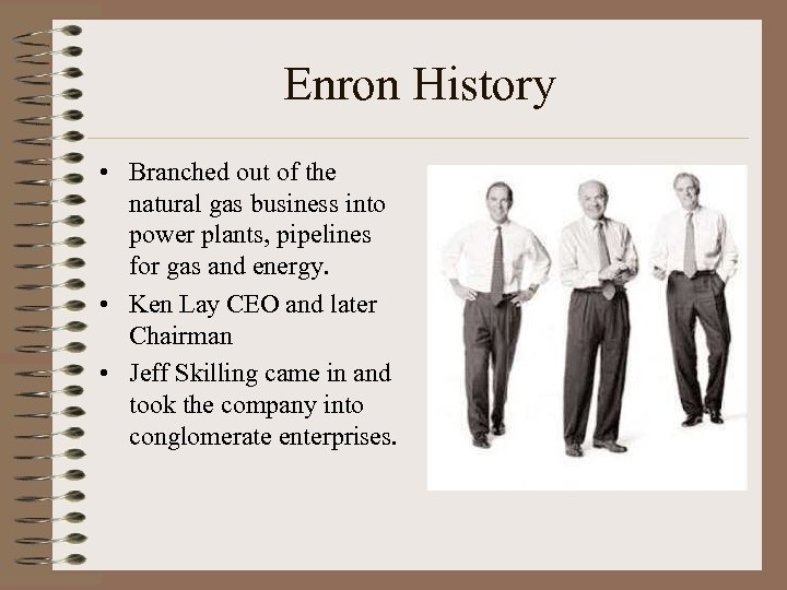 organization description enron corporation an american Essay about instructor: enron and ethical  name–no nicknames ie enron corporation  and guidelines and is even implemented within the job description.