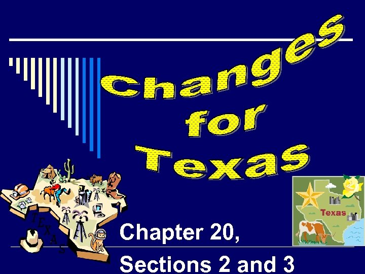 Chapter 20, Sections 2 and 3