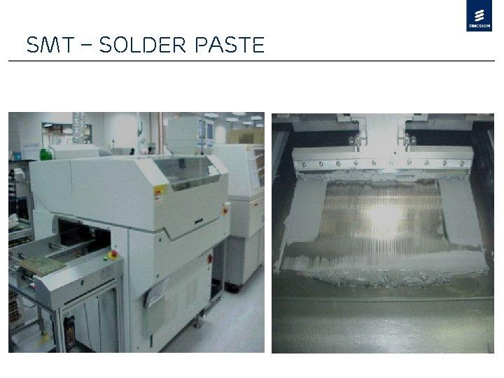 SMT – Solder Paste