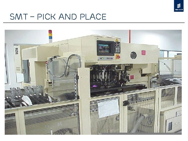 SMT – Pick and Place